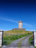 Doonagore castle Doolin Co. Clare Ireland. On a summers day Royalty Free Stock Photo
