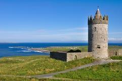Doonagore castle, Ireland Stock Image