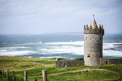 Doonagore Castle in Ireland Stock Images