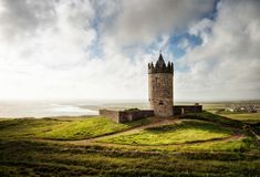 Doonagore Castle Irland Royalty Free Stock Photography