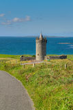 Doonagore castle near Doolin Royalty Free Stock Images
