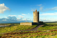 Doonagore castle near Doolin, Ireland Stock Photos