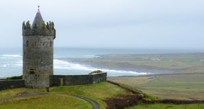 Doonagore Castle Royalty Free Stock Images