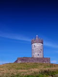 Doonagore grodowy Doolin Co. Clare Irlandia Obraz Royalty Free