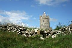 Doonagore Schloss, Doolin lizenzfreie stockbilder