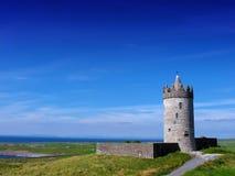 Doonagore城堡Doolin Co. Clare爱尔兰 库存图片
