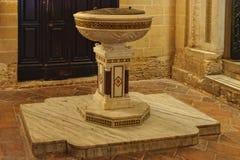Doopdoopvont - Palermo Royalty-vrije Stock Afbeelding