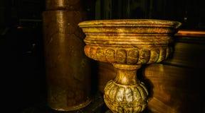 Doopdoopvont van de Heilige Margherita Church Royalty-vrije Stock Foto