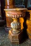 Doopdoopvont van de Heilige Margherita Church Stock Foto