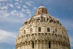 Doopkapel, Pisa Royalty-vrije Stock Afbeeldingen