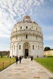 Doopkapel, Pisa Stock Afbeeldingen