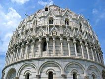 Doopkapel Pisa Royalty-vrije Stock Fotografie