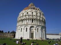 Doopkapel Pisa Italië Stock Fotografie