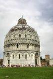 Doopkapel van de Kathedraal van Pisa, Italië Royalty-vrije Stock Afbeelding
