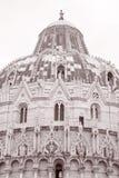 Doopkapel van de Kathedraal van Pisa, Toscanië, Italië Royalty-vrije Stock Afbeelding
