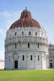 Doopkapel van St. John in Pisa, Toscanië, Italië Royalty-vrije Stock Foto