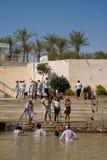 Doopplaats op Jordan River, Qasr al-Yahud, Israël Royalty-vrije Stock Afbeelding