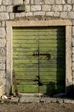 Door 10. Door on old house  in montenegro Stock Photo