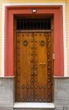 Door. Andalusian style door. Granada, Spain Stock Photography
