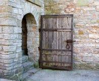 Door. The door in old fortress in Russia Stock Image