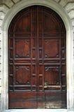 Door. A closed wooden door Royalty Free Stock Photo