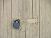 Door. Locked door Stock Photography