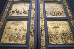 Gates of Paradise by Lorenzo Ghiberti Stock Image