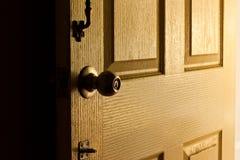Door. Old door at my home Royalty Free Stock Photography