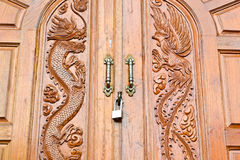 Door Royalty Free Stock Images & Wood Door With Dragons And Swans Design Stock Images - Image: 34381944 pezcame.com