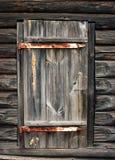 Door. Old wooden barn door in the Russian village royalty free stock image