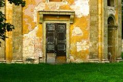 Door #3. Old door in a town in Germany Stock Photography