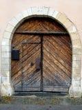 Door 3. Door on house in europe Stock Images