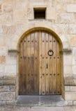 Door. Image of the detail of an old door Stock Photo