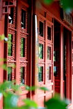 Door. Took in a traditional Chinese garden。This is a heavy door and itself is a symbol of histoy royalty free stock photo