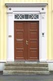 Door. A fine old door in Trondheim, Norway Royalty Free Stock Image