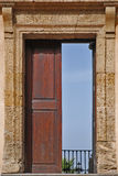 Door. A door open in the sky in Palermo Stock Photography