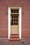 Door 814. A door in a brick building Royalty Free Stock Image
