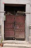 Door. Old door of a ruin royalty free stock images