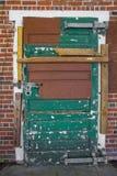 Door on Abandoned Building Stock Image