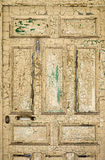 Door of Abandoned House Royalty Free Stock Photos