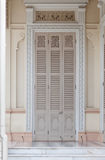 Door of the Abhisek Dusit Throne Hall in Bangkok Stock Photos