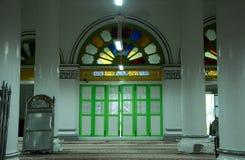 Door of The Abidin Mosque in Kuala Terengganu, Malaysia Royalty Free Stock Photo