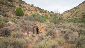 Door of Aging Homestead Stock Photos