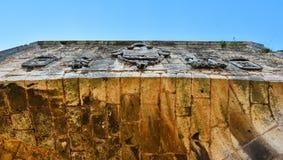 Door of Alcazar de Colon - Santo Domingo, Dominican Republic. Royalty Free Stock Photography