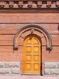Door of Alexander Nevskii Cathedra Royalty Free Stock Photo