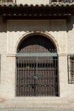 Door of Arab style Stock Photo