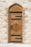 Door with Arabic script Royalty Free Stock Photography
