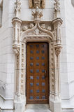 Door architectural details Royalty Free Stock Photo