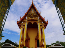 Door architecture. Of temple thailand Royalty Free Stock Images