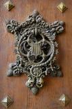 Door artifact. Historical door artifact from castle Hluboka nad Vltavou Royalty Free Stock Image